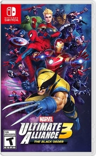 MARVEL ULTIMATE ALLIANCE 3: The Black Order (Nintendo Switch) Фотография 0