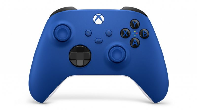 Xbox Series X|S Wireless Controller Bluetooth - Shock Blue Фотография 0