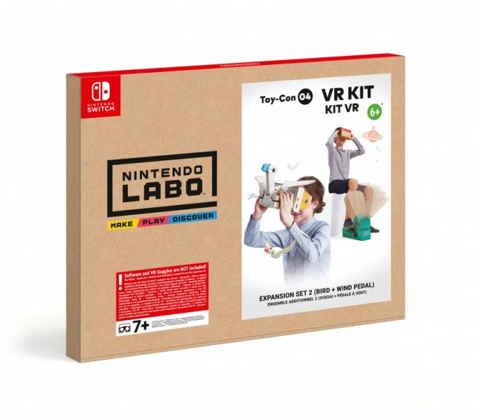 Nintendo Labo VR Kit expansion set 2 bird + wind pedal (Nintendo Switch) Фотография 0