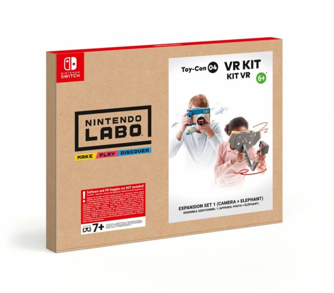 Nintendo Labo VR Kit expansion set 1 camera + elephant (Nintendo Switch) Фотография 0