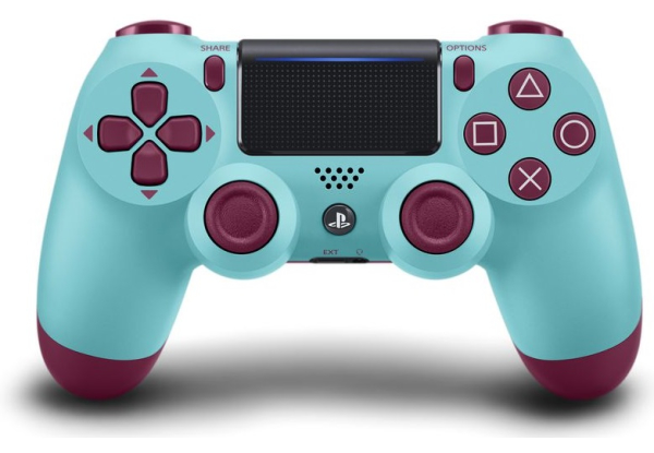 Джойстик Sony Dualshock 4 V2 Berry Blue Фотография 0
