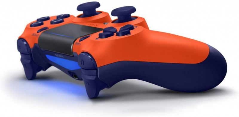 Джойстик Sony Dualshock 4 V.2 Sunset Orange Фотография 2