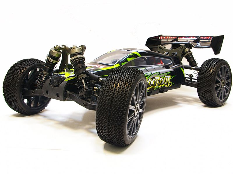 Багги 1:8 Himoto Shootout MegaE8XBL Brushless (зеленый) Фотография 0