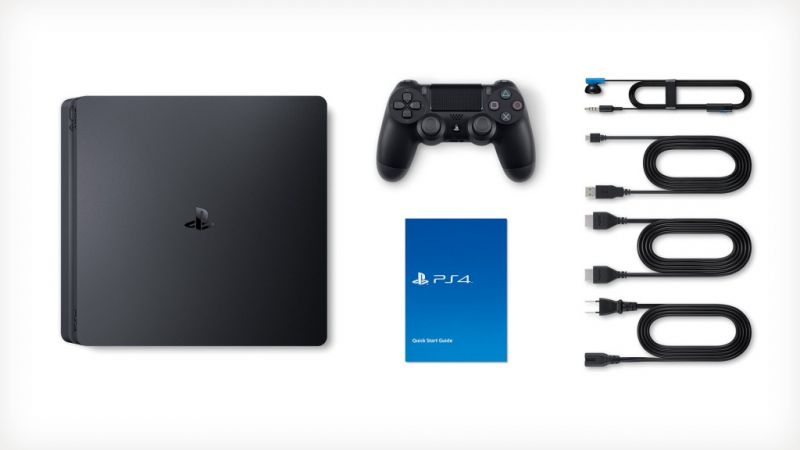 Sony Playstation 4 Slim + игра Assassin's Creed Odyssey (PS4) Фотография 5