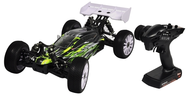 Багги 1:8 Himoto Shootout MegaE8XBL Brushless (зеленый) Фотография 3