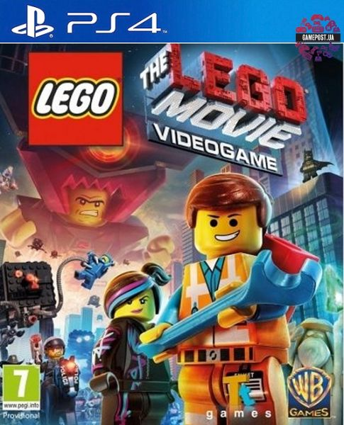 LEGO Movie Videogame (PS4) Фотография 0