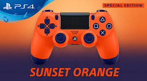 Джойстик Sony Dualshock 4 V.2 Sunset Orange Фотография 4