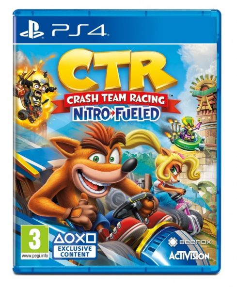 Crash Team Racing Nitro-Fueled (PS4) Фотография 0