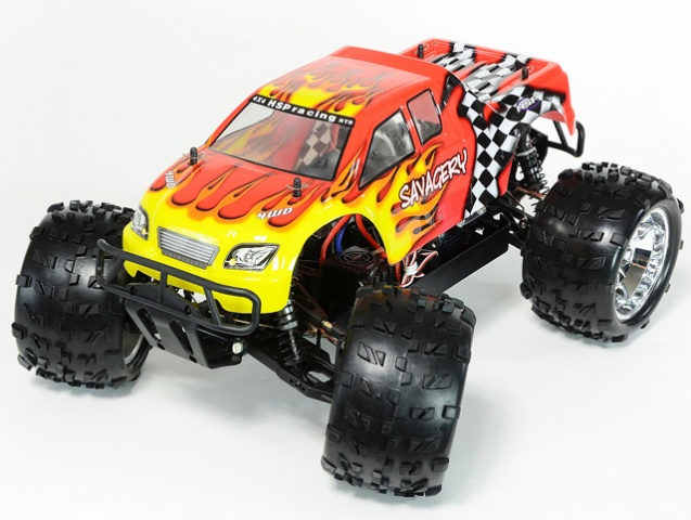 Монстр 1:8 HSP Racing Savagery Brushless Фотография 0