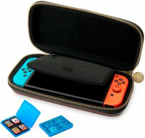 Чехол для Nintendo Switch Deluxe Traveler Case Zelda brown Thumbnail 4
