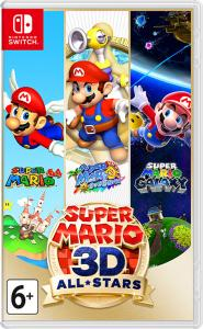Nintendo Switch Neon Blue / Red HAC-001(-01) + Super Mario 3D All-Stars (Nintendo Switch) Thumbnail 4