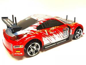 Дрифт 1:10 Himoto DRIFT TC HI4123BL Brushless (красный) Thumbnail 2