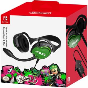 HORI Nintendo Switch Splatoon 2 Splat & Chat Headset Thumbnail 0