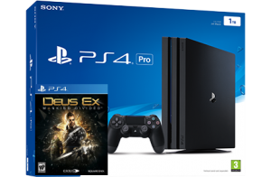 Sony Playstation 4 PRO 1TB + игра Deus Ex: Mankind Divided (PS4)