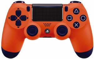 Джойстик Sony Dualshock 4 V.2 Sunset Orange Thumbnail 0