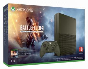 Xbox One S 1TB Battlefield 1 Limited Edition Bundle