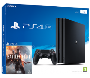 Sony Playstation 4 PRO 1TB + Battlefield 1 (PS4)
