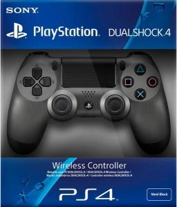Джойстик Sony Dualshock 4 V2 Steel Black Thumbnail 1
