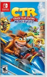 Nintendo Switch Neon Blue / Red HAC-001(-01) + Crash Team Racing Nitro-Fueled (Nintendo Switch) Thumbnail 5