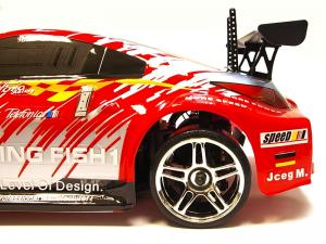 Дрифт 1:10 Himoto DRIFT TC HI4123BL Brushless (красный) Thumbnail 4