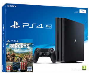 Sony Playstation 4 PRO 1TB + игры Far Cry 5 (PS4)