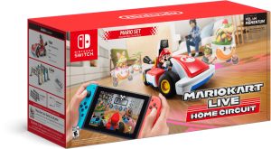 Nintendo Switch Neon Blue / Red HAC-001(-01) + Mario Kart Live: Home Circuit - Mario Set (Nintendo Switch) Thumbnail 4