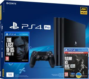 Sony PlayStation 4 Pro 1TB + The Last of Us + The Last of Us Part II Thumbnail 0
