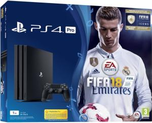 Sony Playstation PRO 1TB + FIFA 18(PS4)
