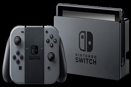 Nintendo Switch Gray + Super Smash Bros. Ultimate (Nintendo Switch) Thumbnail 4