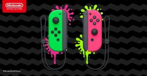 Геймпады Joy-Con Pair Neon Green/Pink Thumbnail 2