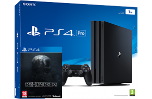 Sony Playstation 4 PRO 1TB + игра Dishonored 2 (PS4)