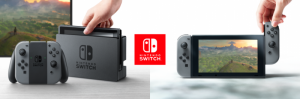 Nintendo Switch Gray HAC-001(-01) + Mortal Kombat 11 (Nintendo Switch) Thumbnail 1