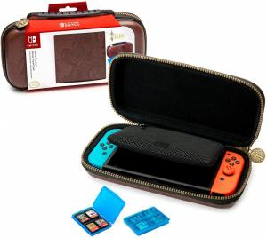 Чехол для Nintendo Switch Deluxe Traveler Case Zelda brown Thumbnail 1