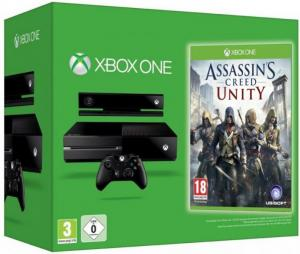 Microsoft Xbox ONE + Kinect 2 + Assassin's Creed Unity Bundle Thumbnail 0