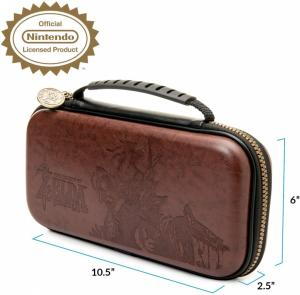 Чехол для Nintendo Switch Deluxe Traveler Case Zelda brown Thumbnail 2