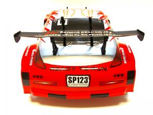 Дрифт 1:10 Himoto DRIFT TC HI4123BL Brushless (красный) Thumbnail 5