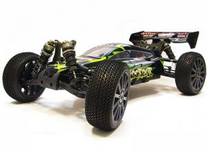 Багги 1:8 Himoto Shootout MegaE8XBL Brushless (зеленый) Thumbnail 0