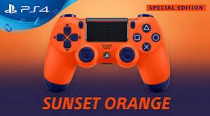 Джойстик Sony Dualshock 4 V.2 Sunset Orange Thumbnail 4