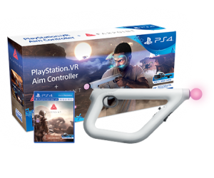 PS VR Aim Controller + Farpoint (PS VR)