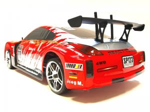 Дрифт 1:10 Himoto DRIFT TC HI4123BL Brushless (красный) Thumbnail 3