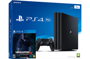 Sony Playstation 4 PRO 1TB + игра Uncharted 4: Путь Вора